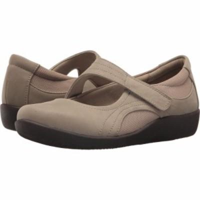 クラークス Clarks レディース シューズ・靴 Sillian Bella Sand Synthetic Nubuck