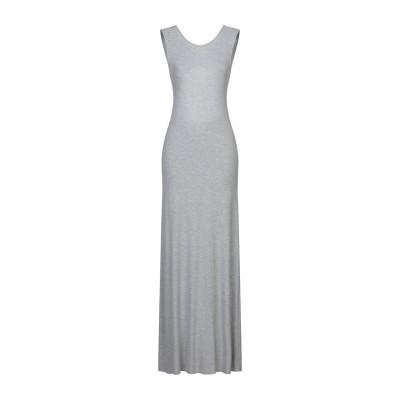 カオス KAOS ロングワンピース&ドレス グレー M レーヨン 95% / ポリウレタン 5% ロングワンピース&ドレス