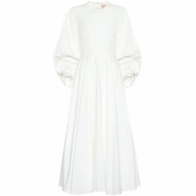 ロクサンダ Roksanda レディース ワンピース ワンピース・ドレス Fife cotton-poplin dress Ivory
