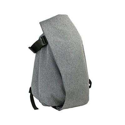 cote&ciel Isar Large Eco Yarn Backpack Black Melange One Size 並行輸入品