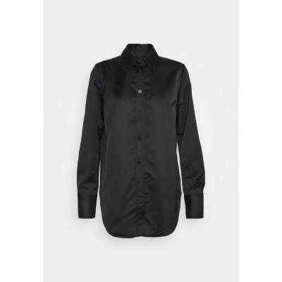 リバティーン リバティーン シャツ レディース トップス BOLD - Button-down blouse - black