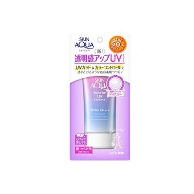 スキンアクア トーンアップUVエッセンス SPF50+/PA++++ 80g / ロート製薬 スキンアクア