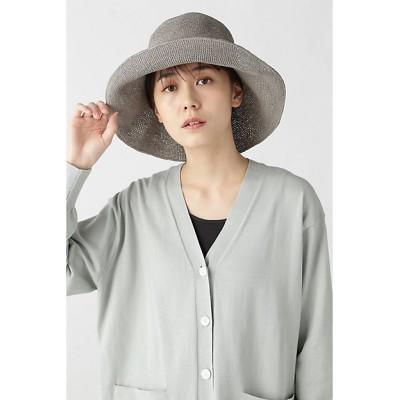<HUMAN WOMAN(Women)/ヒューマンウーマン> 細編みハット グレー【三越伊勢丹/公式】