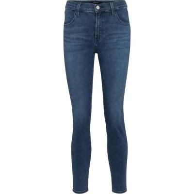 ジェイ ブランド J Brand レディース ジーンズ・デニム クロップド スキニー ボトムス・パンツ alana cropped high-rise skinny jeans Intrepid