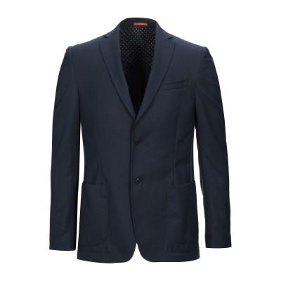 マエストラミ MAESTRAMI テーラードジャケット ダークブルー 48 バージンウール 100% テーラードジャケット