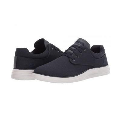 SKECHERS スケッチャーズ メンズ 男性用 シューズ 靴 スニーカー 運動靴 Status 2.0 - Burbank - Navy
