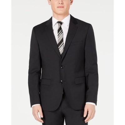 フューゴ メンズ ジャケット・ブルゾン アウター Men's Modern-Fit Wool Suit Jackets