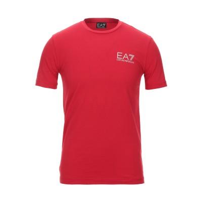 EA7 T シャツ レッド XS コットン 95% / ポリウレタン 5% T シャツ