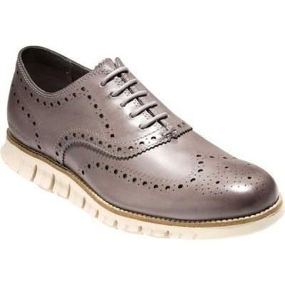コールハーン ドレスシューズ シューズ メンズ ZEROGRAND Wingtip Oxford (Men's) Ironstone Leather
