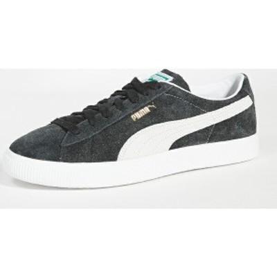 (取寄)プーマ セレクト スエード ビンテージ スニーカー PUMA Select Suede Vintage Sneakers PumaBlack PumaWhite