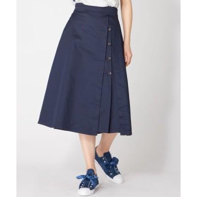 スカート ボタンデザインスカート