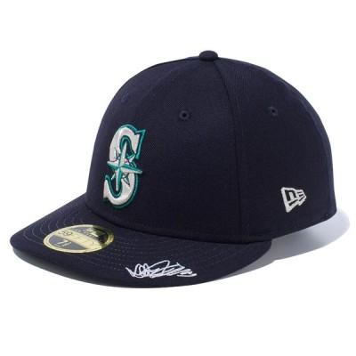 イチロー マリナーズ キャップ ニューエラ NEW ERA  MLB マリナーズ シグネーチャー ネイビー