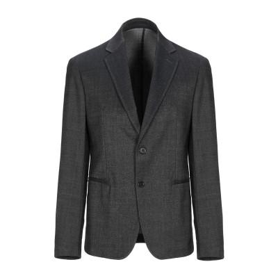 アルマーニ コレッツィオーニ ARMANI COLLEZIONI テーラードジャケット ブラック 46 コットン 52% / バージンウール 46%
