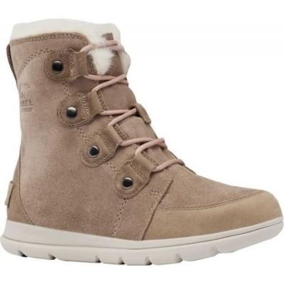 ソレル Sorel レディース ブーツ シューズ・靴 Explorer Joan Boot Ash Brown Waterproof