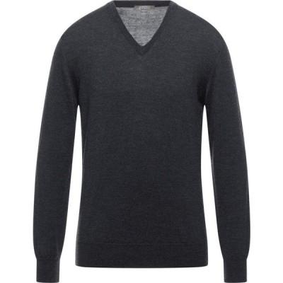 アンドレア フェンツィ ANDREA FENZI メンズ ニット・セーター トップス Sweater Steel grey