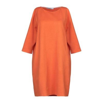 ハリス・ワーフ・ロンドン HARRIS WHARF LONDON ミニワンピース&ドレス オレンジ 42 コットン 95% / ナイロン 4% /