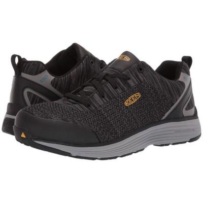 キーン Keen Utility メンズ シューズ・靴 Sparta ESD Black/Grey Flannel