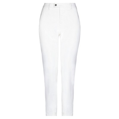 ロイ ロジャース ROŸ ROGER'S パンツ ホワイト 25 コットン 98% / ポリウレタン 2% パンツ
