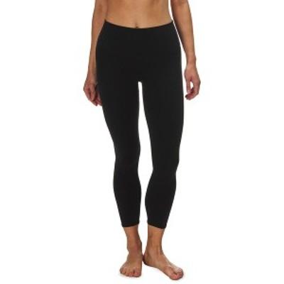 アローヨガ レディース カジュアルパンツ ボトムス High-Waist Airbrush Capri Tight - Women's Black