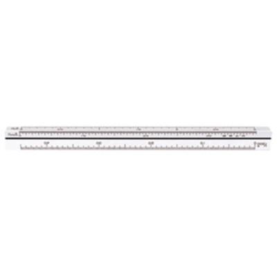 シンワ測定 三角スケール B-15 15cm 建築士用  74961 【返品種別A】