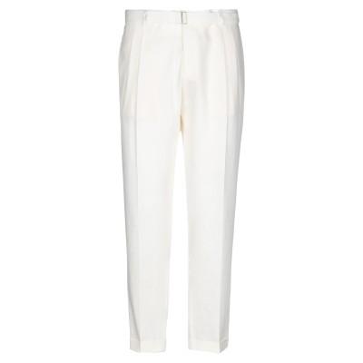 BRIGLIA 1949 パンツ ホワイト 40 リネン 100% パンツ