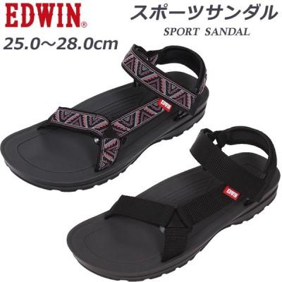 EDWIN エドウィン スポーツサンダルメンズ エドウイン ストラップQDAI10-EW5100