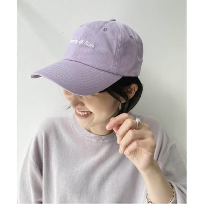 レディース アパルトモン 【SPORTY&RICH/スポーティアンドリッチ】CLASSIC LOGO HAT CAP ボルドー フリー