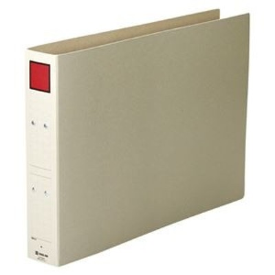 ds-2383224 (まとめ) キングジム 保存ファイル A3E ヨコ型・片開き 5cm 【×10セット】 (ds2383224)