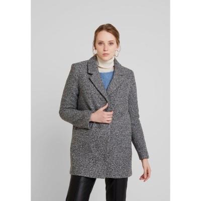 ヴィラ コート レディース アウター Classic coat - medium grey melange