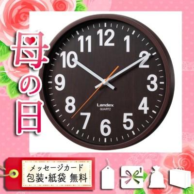母の日 ギフト 2021 花 掛け時計 壁掛け時計 プレゼント カード 掛け時計 壁掛け時計 インテリア掛時計 ダークブラウン