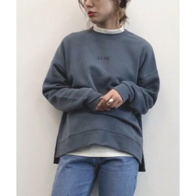 tシャツ Tシャツ ミニロゴふっくらプルオーバー*★
