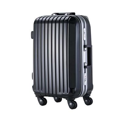 S型 リッチブラック/DL-2254 スーツケース キャリーケース TSAロック搭載 小型