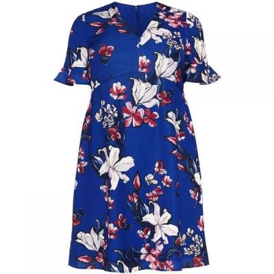 スタジオ8 Studio 8 レディース ワンピース ワンピース・ドレス Priscilla Floral Dress Blue Multi