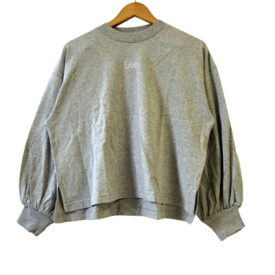 LEE×earth パフスリーブ長袖 [earth music&ecology] Tシャツ フリーサイズ