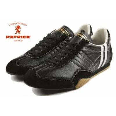 交換返品送料無料 パトリック スニーカー ジェット レザー ブラック PATRICK JET-LE BLK 24011 定番