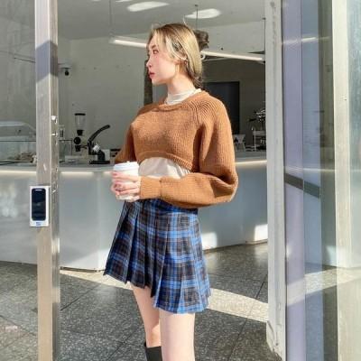 VANILLAMILK レディース ニット/セーター Yulia Hachi cropped knit