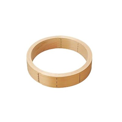 せいろ 厨房用品 / 桧中華セイロ 台輪 27cm 寸法: φ240 x 75mm