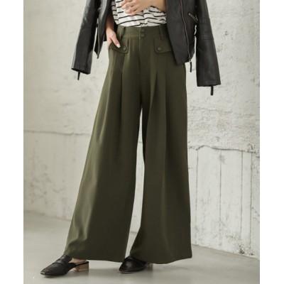 SUGAR BISKET / タック入りワイドパンツ WOMEN パンツ > パンツ