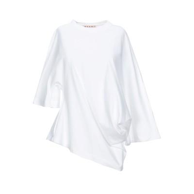 マルニ MARNI T シャツ ホワイト 46 コットン 100% T シャツ