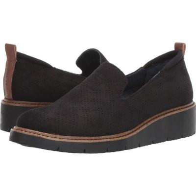 ドクター ショール Dr. Scholl's レディース ローファー・オックスフォード シューズ・靴 Sidekick Black Microfiber
