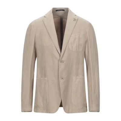 タリアトーレ TAGLIATORE テーラードジャケット ベージュ 50 リネン 54% / コットン 46% テーラードジャケット