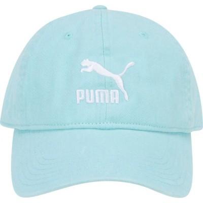 プーマ PUMA メンズ キャップ ダッドハット 帽子 Archives Adjustable Dad Hat Blue/White
