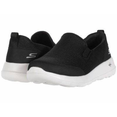 スケッチャーズ スニーカー シューズ メンズ Go Walk Max - Clinched Black/White