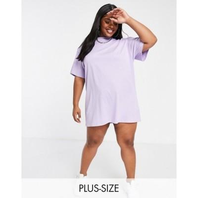 ニューガールオーダー レディース ワンピース トップス New Girl Order Curve logo t-shirt dress