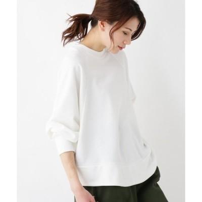 tシャツ Tシャツ 裏毛ドルマンプルオーバー