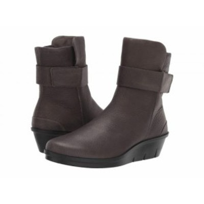 ECCO エコー レディース 女性用 シューズ 靴 ブーツ アンクル ショートブーツ Skyler Hydromax(TM) Boot Warm Grey【送料無料】