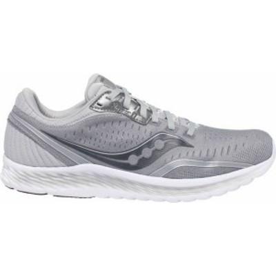 サッカニー メンズ スニーカー シューズ Saucony Men's Kinvara 11 Running Shoes Grey