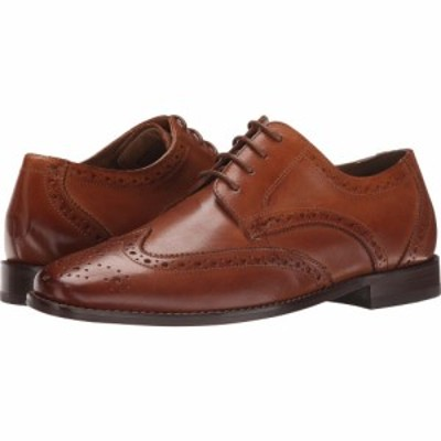フローシャイム Florsheim メンズ 革靴・ビジネスシューズ ウイングチップ シューズ・靴 Montinaro Wingtip Oxford Saddle Tan Smooth
