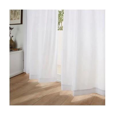 【送料無料!】ラインサークル柄遮熱・24時間見えにくい・UVカットレースカーテン レースカーテン・ボイルカーテン, Curtains, sheer curtains, net curtains(ニッセン、nissen)