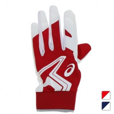 アシックス メンズ 野球 守備用手袋 左手用 グローブ NEOREVIVE 3121A638 : ネイビー×ホワイト asics